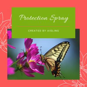 Protection Flower Essence Spray